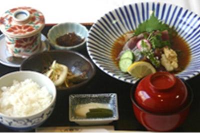 炙烤鰹魚套餐