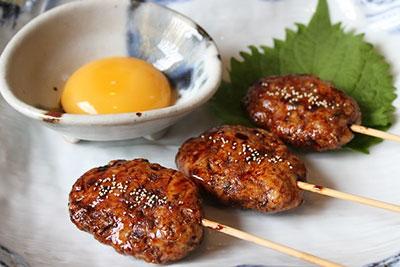 Home made teriyaki meatball
