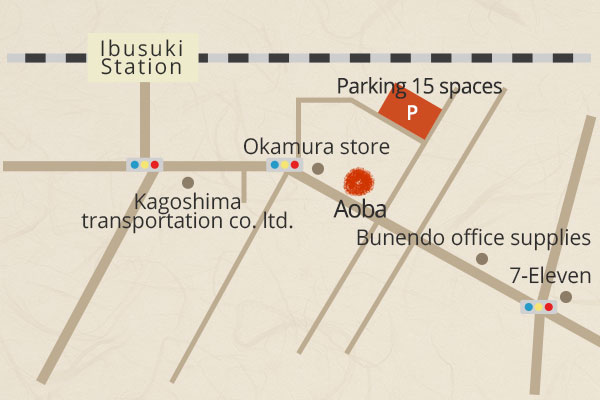 From Ibusuki station
