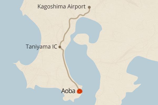 From Kagoshima airport