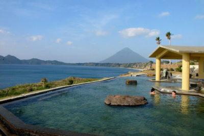 Tamatebako onsen hot spring
